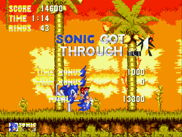 Sonic and Knuckles & Sonic 3 - im floating! - User Screenshot